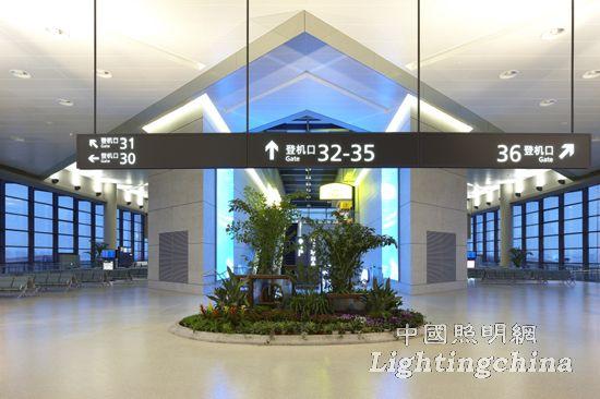 中照奖:上海虹桥机场西航站楼及附属楼室内照明工程